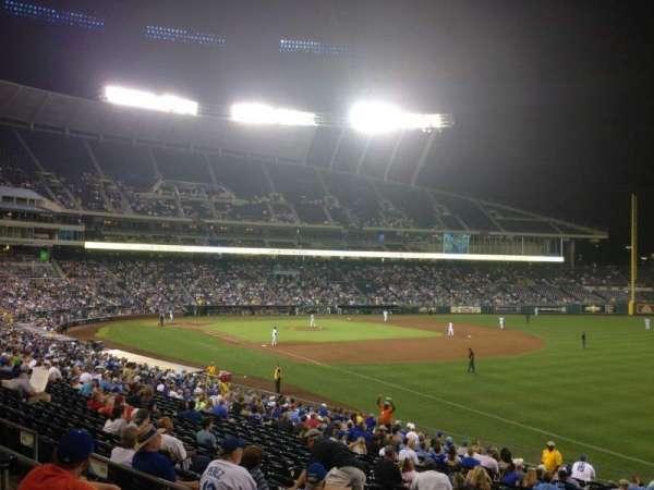 Kauffman Stadium, section: 243, row: CC, seat: 12