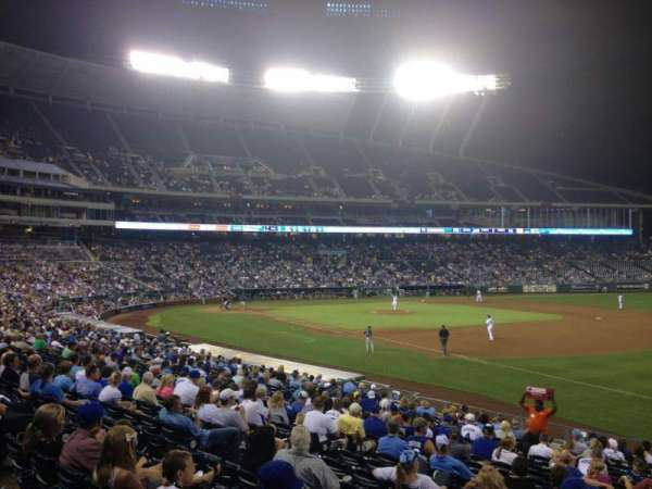 Kauffman Stadium, section: 141, row: X, seat: 10