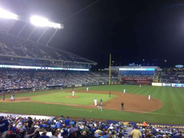 Kauffman Stadium, section: 237, row: FF, seat: 11