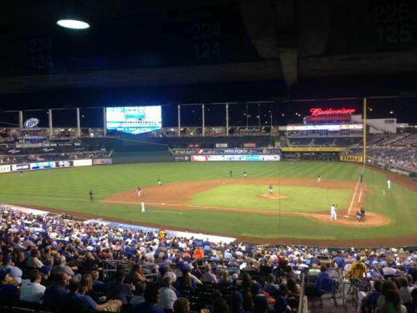 Kauffman Stadium, section: 225, row: RR, seat: 11