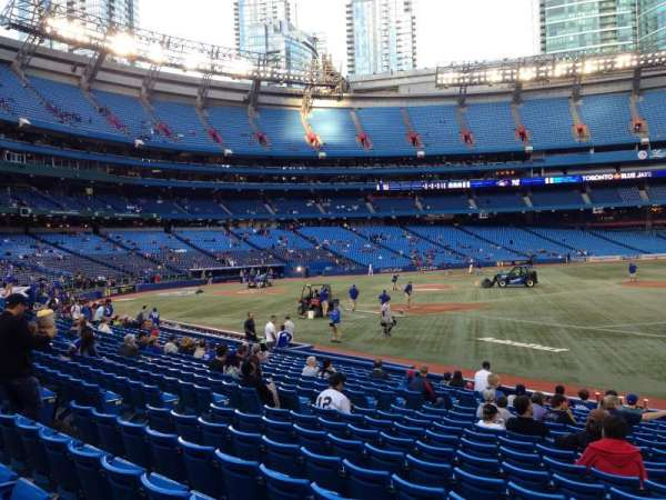 Rogers Centre, section: 116L, row: 14, seat: 101
