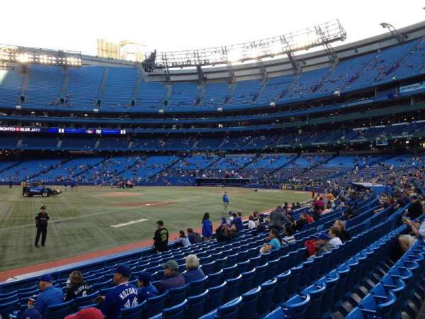 Rogers Centre, section: 130, row: 13, seat: 106