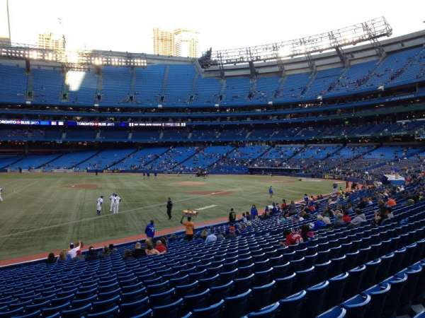 Rogers Centre, section: 130CL, row: 24, seat: 101