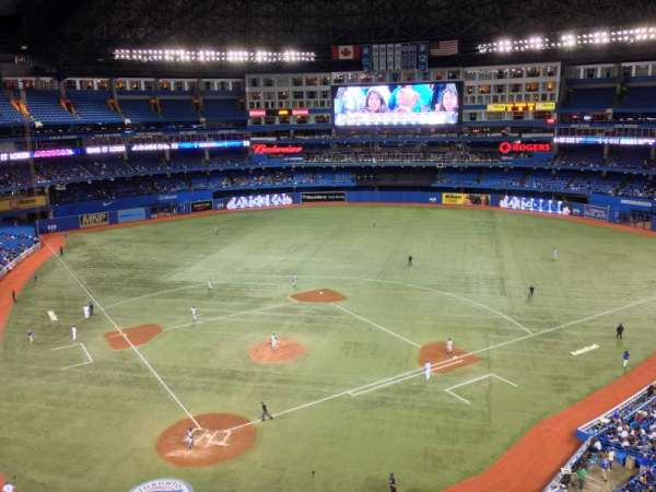 Rogers Centre, section: 521R, row: 2, seat: 4