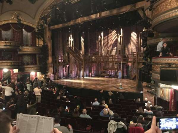 Richard Rodgers Theatre, section: Orchestra R, row: P, seat: 24