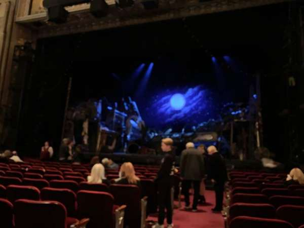 Hollywood Pantages Theatre, section: Orchestra RC, row: L, seat: 201