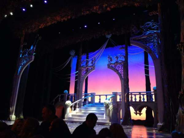Broadway Theatre - 53rd Street, section: Orchestra R, row: F, seat: 9
