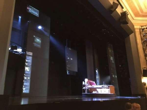 Music Box Theatre, section: Orchestra R, row: E, seat: 13