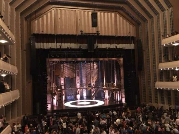 Reynolds Hall at The Smith Center, section: Center Box Tier 1, row: A, seat: 2
