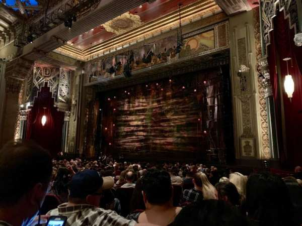Hollywood Pantages Theatre, section: Orchestra R, row: W, seat: 8