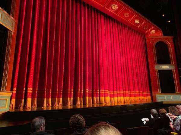 Marquis Theatre, section: Orchestra L, row: E, seat: 9