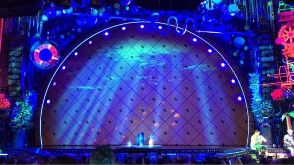 Palace Theatre (Broadway), section: Orchestra Center, row: Q, seat: 102