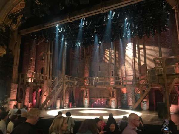 Richard Rodgers Theatre, section: Orchestra R, row: L, seat: 14