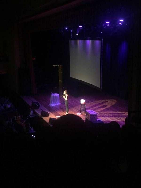 Ryman Auditorium, section: BAL-9, row: L