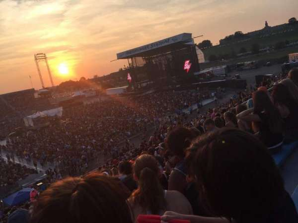 Hershey Park Stadium, section: 28, row: U, seat: 13