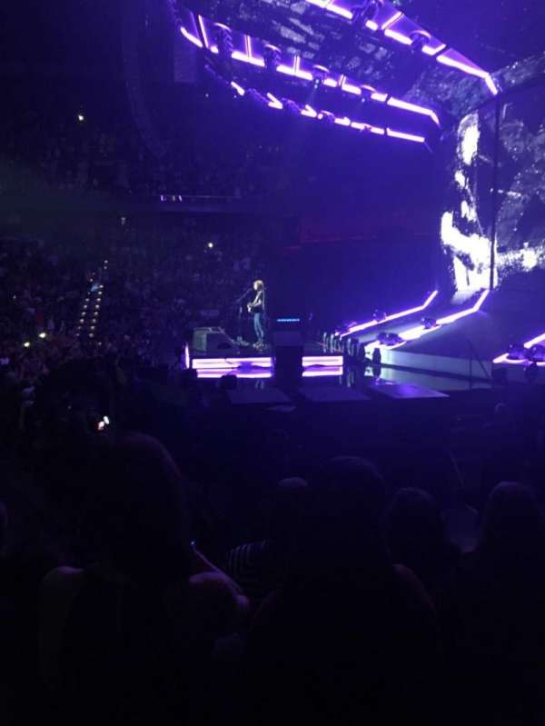 Mohegan Sun Arena, section: 14, row: G, seat: 7
