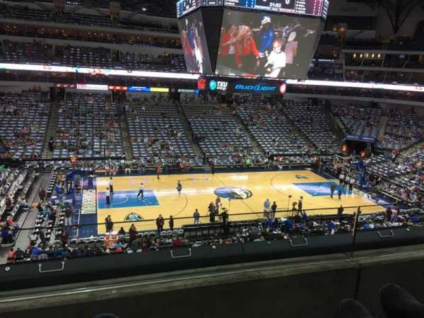 American Airlines Center, section: 219, row: B, seat: 6