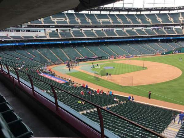 Globe Life Park in Arlington, section: Tris Speaker Suite 229B