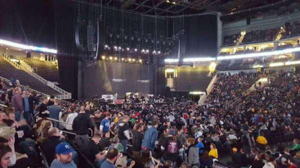 Sprint Center, section: 105, row: 9, seat: 3