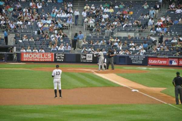 Yankee Stadium, section: 134, row: 24, seat: 3
