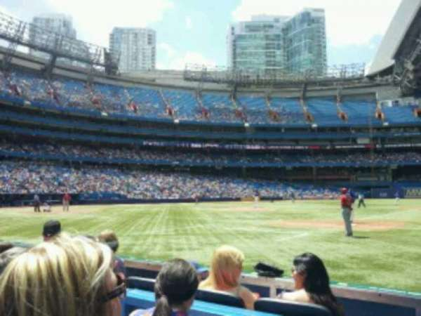 Rogers Centre, section: 115L, row: 3, seat: 109