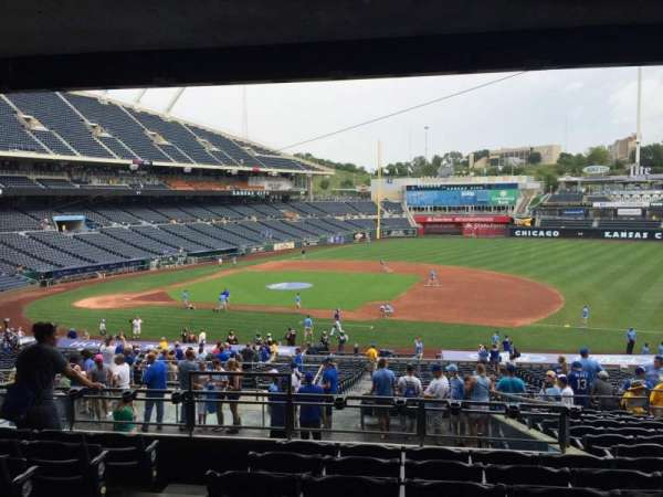 Kauffman Stadium, section: 237, row: PP, seat: 3