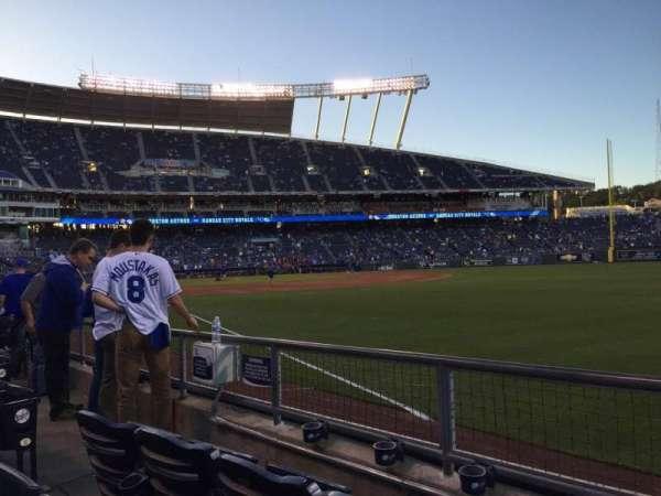 Kauffman Stadium, section: 145, row: G, seat: 6