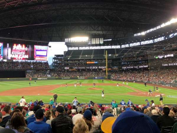 Safeco Field, section: 137, row: 24, seat: 1