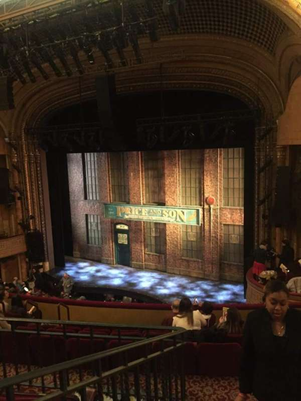 Al Hirschfeld Theatre, section: Mezzanine R, row: J, seat: 20