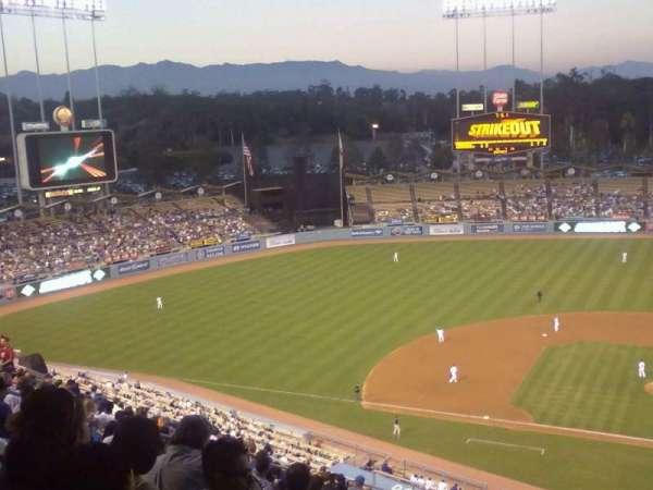 Dodger Stadium, section: top deck