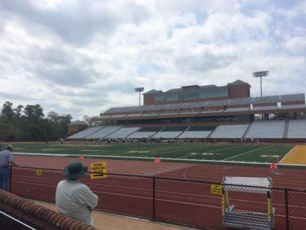 Zable Stadium, section: 119, row: A, seat: 14