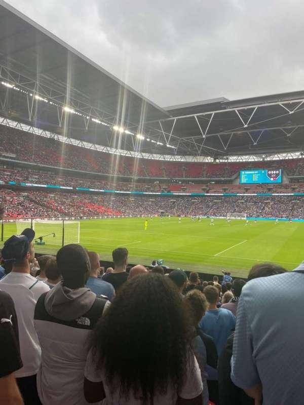 Wembley Stadium, section: 109, row: 16, seat: 210