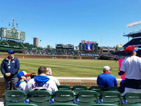 Wrigley Field, section: 6, row: 5, seat: 3