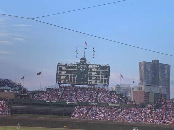 Wrigley Field, section: 122, row: 12, seat: 6