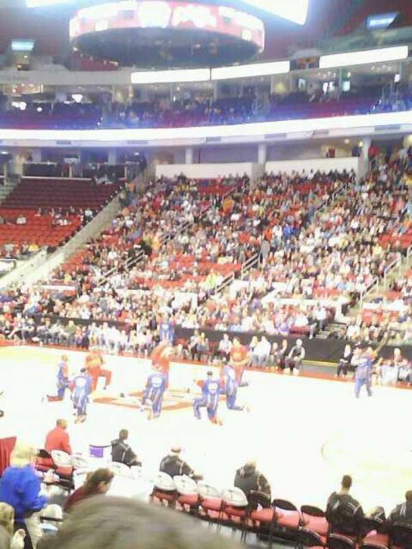 PNC Arena, section: 117, row: L, seat: 3