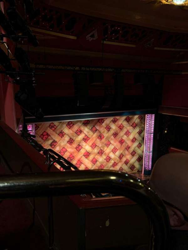 Adelphi Theatre, section: Upper Circle, row: B, seat: 34