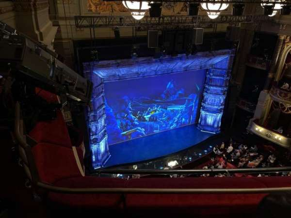 Theatre Royal Drury Lane, section: Balcony, row: B, seat: 43