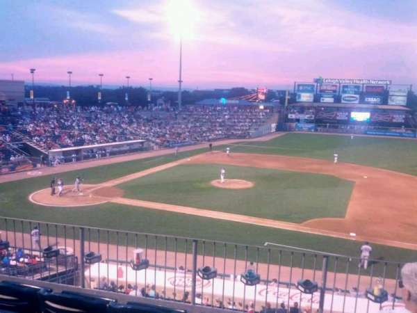 Coca-Cola Park, section: 203, row: D, seat: 18