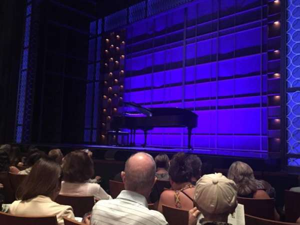 Stephen Sondheim Theatre, section: Orchestra, row: F, seat: 8