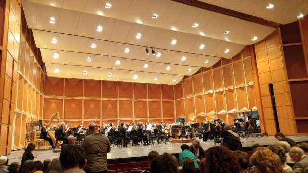Uihlein Hall, section: Orchestra, row: H, seat: 10
