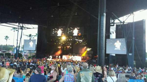 Coral Sky Amphitheatre, section: 5, row: X, seat: 40