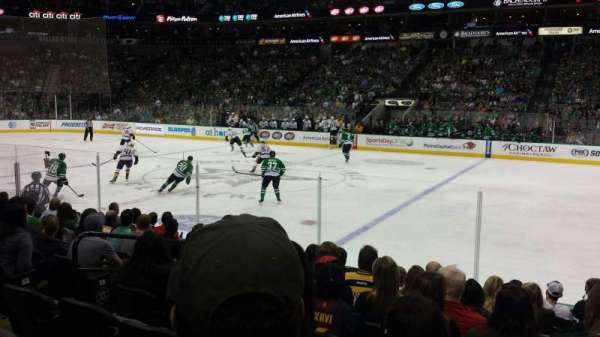 American Airlines Center, section: 105, row: K, seat: 12