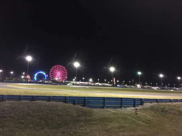 Daytona International Speedway, section: The Horse Shoe (infield)