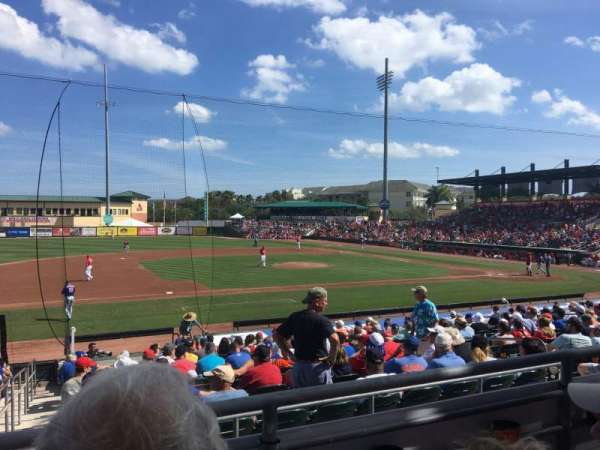Roger Dean Chevrolet Stadium, section: 212, row: B, seat: 9