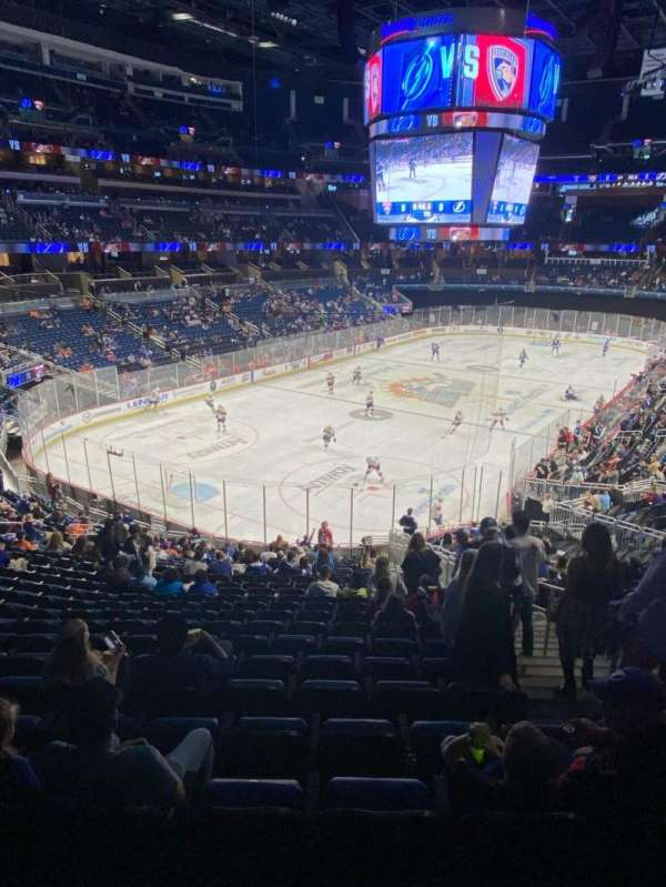 Amway Center, section: 118, row: 29, seat: 4