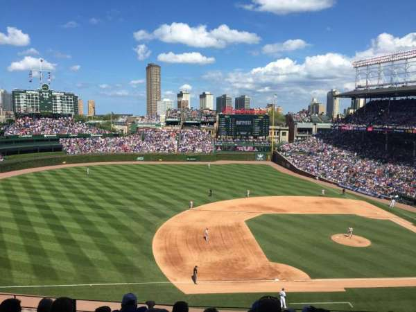 Wrigley Field, section: 309L, row: 6, seat: 7