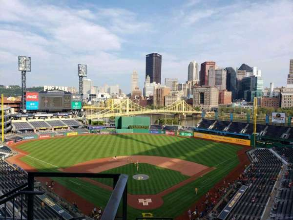 PNC Park, section: 316, row: J, seat: 21