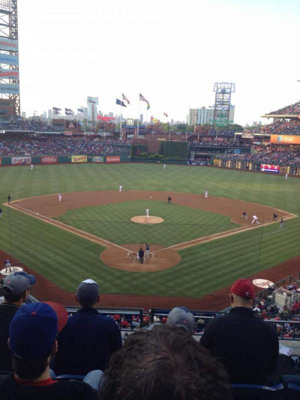 Citizens Bank Park, section: 222, row: 4, seat: 5