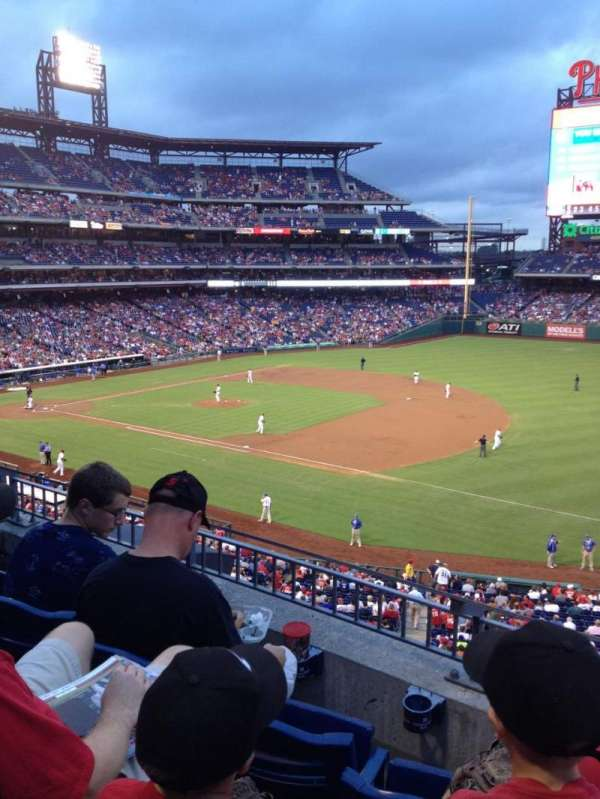 Citizens Bank Park, section: 211, row: 3, seat: 3