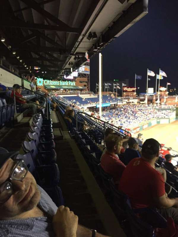 Citizens Bank Park, section: 233, row: 7, seat: 2